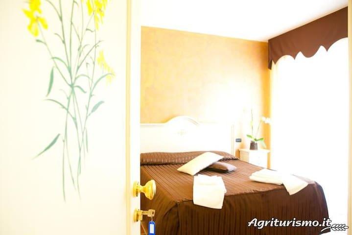 camera matrimoniale la ginestra - San Rufo - Bed & Breakfast