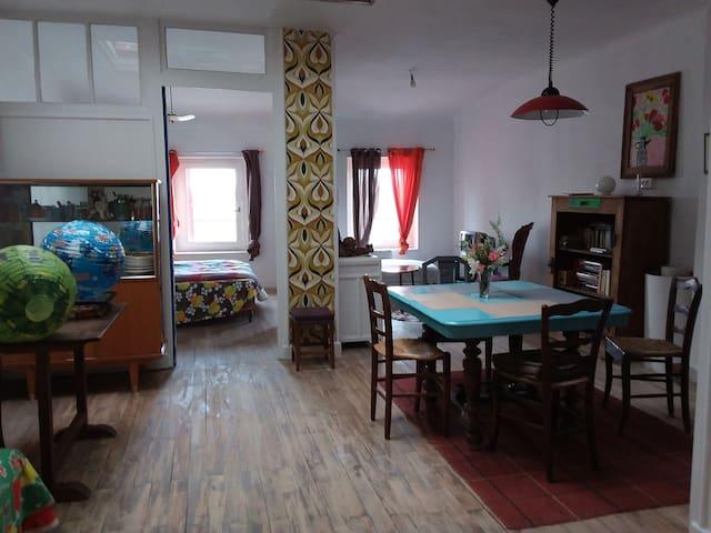 Vue sur Rhone - Serrières - Appartement
