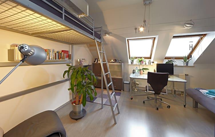 Mini Loft in Periphery of Nuremberg - Nuremberg - Hus