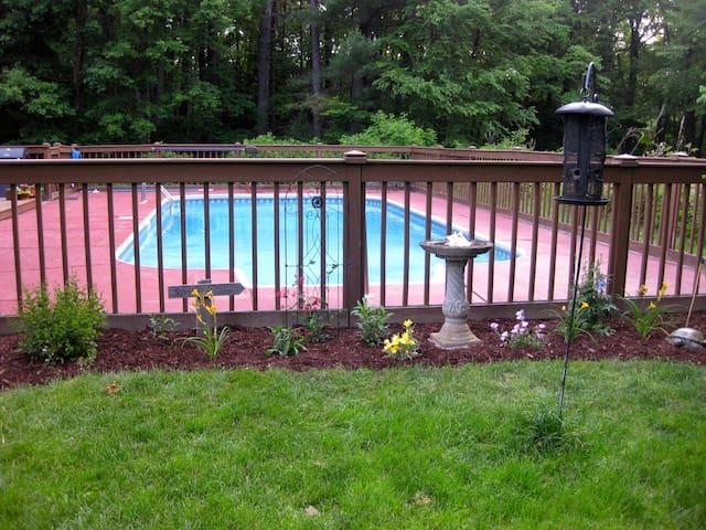 Luxury Room Pool&Yoga Studio - New Hartford - Rumah