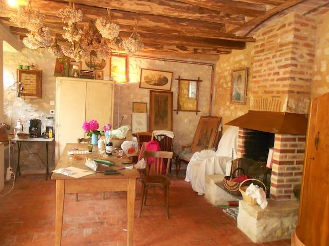 Maison avec cachet au coeur de la Charité - La Charité-sur-Loire - Casa