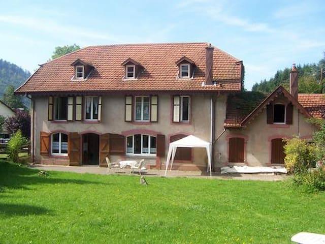 Ferienhaus für Großfamilie,Haustier - Bionville, Vogesen - Huis
