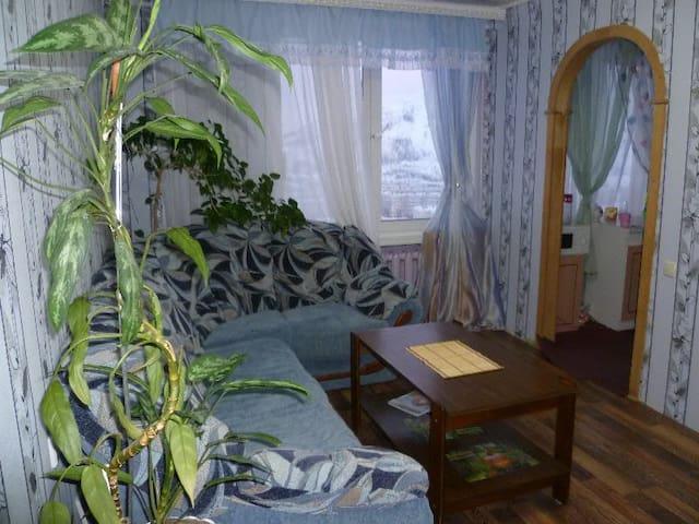 Уютная 3-х комнатная квартира недалеко от горы - Kirovsk