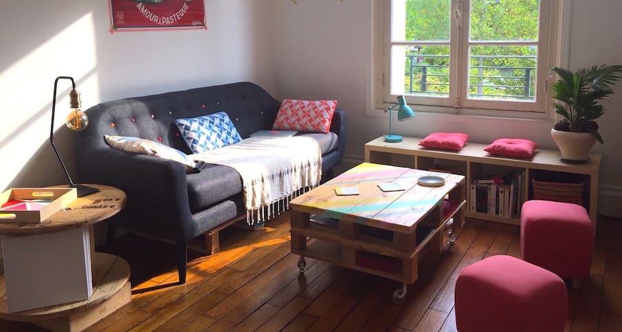 Appartement cocooning à Enghien-Deuil - Deuil-la-Barre - 公寓