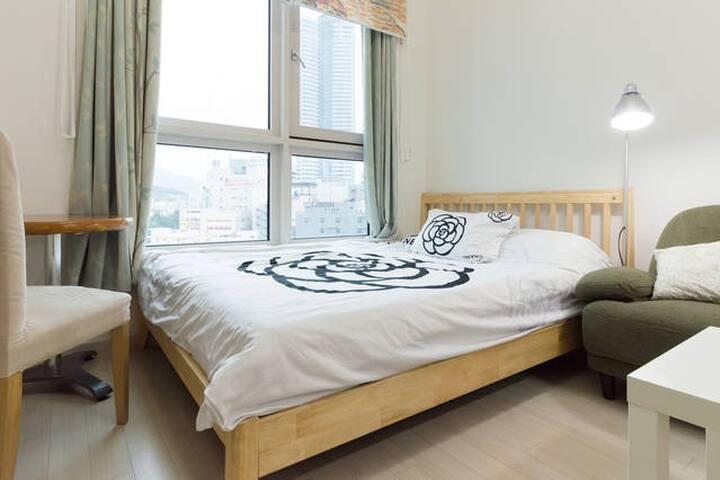 Home~like☆Duplex@Haeundae*Family Bay101*Dongbaek - Haeundae-gu - Ev