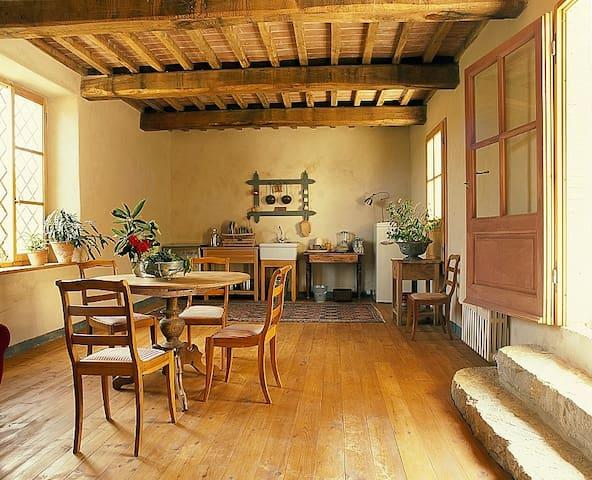 Stylish apartment in organic farm  - Barberino Val D'elsa - Apartamento