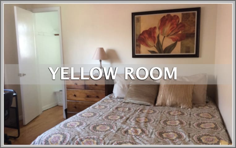 Med Students on Short Term Rotation Yellow Room - Oak Lawn - Casa