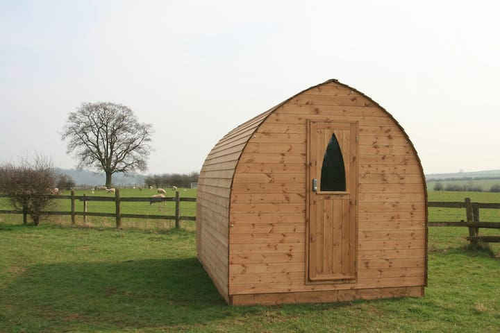 Gower Suitehuts luxury Glamping (Cussan) - Llanrhidian - Hut
