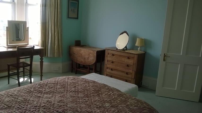 Newhaven: Double room/ breakfast.  Edwardian house - Newhaven - Hus