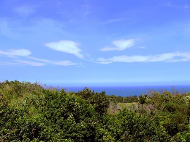 Luana Ola Blue Cottage Ocean View - Honokaa - Talo