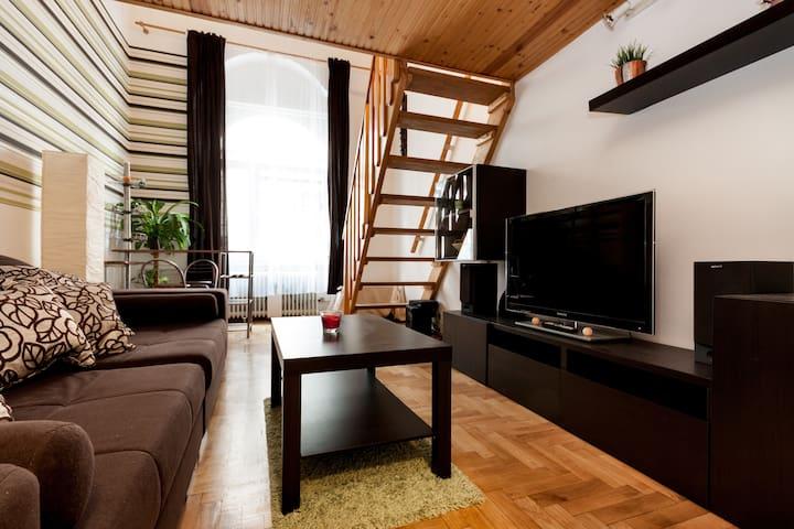 Downtown Apartment @ Walking Street - Budapest - Departamento