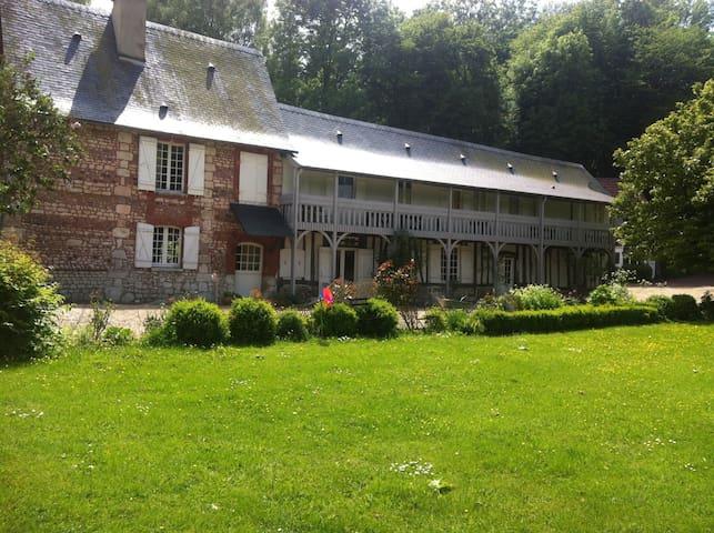 Belle propriété pour vos week-ends en Normandie - Croisy-sur-Andelle - Huis