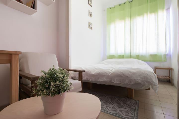 Central location, spacious room - Gerusalemme - Appartamento