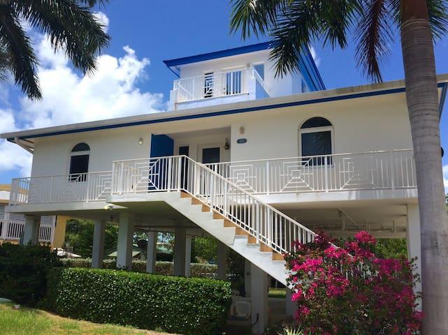 Bedroom in bright home + (free snorkeling on Sat) - Key Largo - Casa