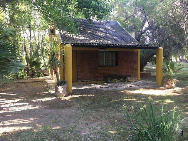 Cabaña en Ullum para 6 personas - Casa de Campo. - Ullum - Houten huisje