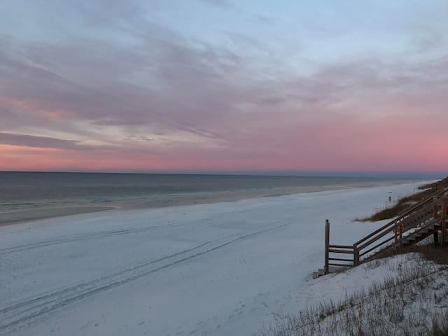Poolside Serenity - Pool view, steps to ocean! - Seagrove Beach - Townhouse