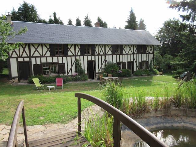 loue maison familiale normande - Heugon - Rumah