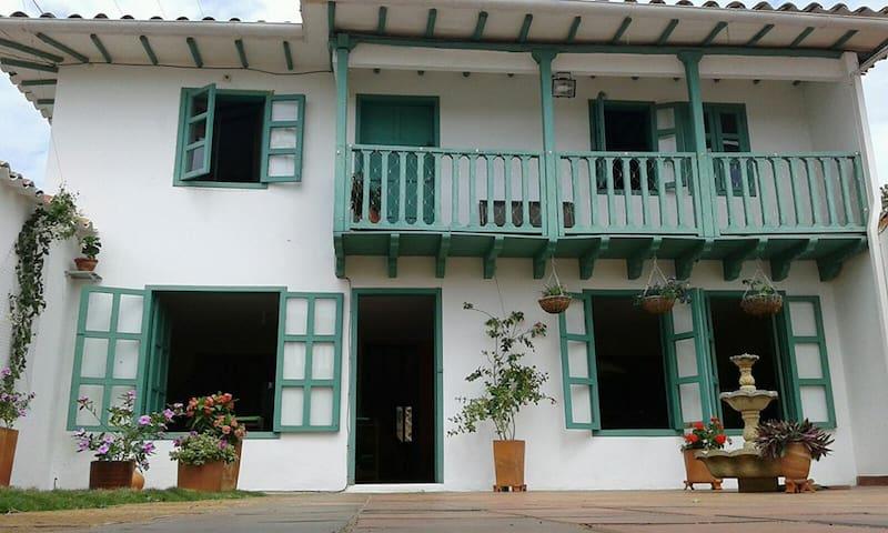 Posada Cadenza: Casa acogedora y tranquila. - Barichara - Chambre d'hôtes