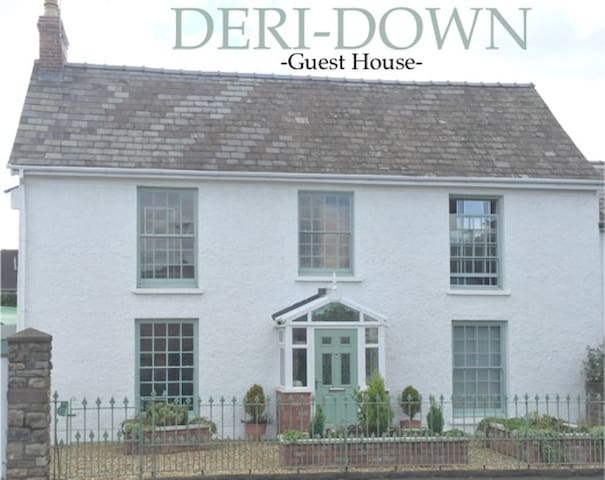 Old Georgian Estate House with Spacious Room - Abergavenny - Rumah