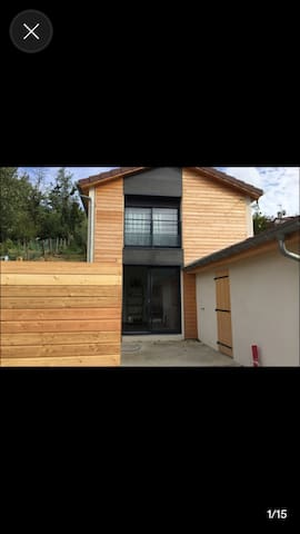 L'atelier - Maison d'hôte - Rochetaillée-sur-Saône - Huis