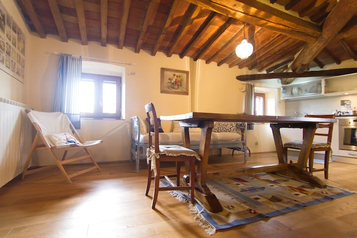 Apt. in authentic country house - Arezzo - Wohnung