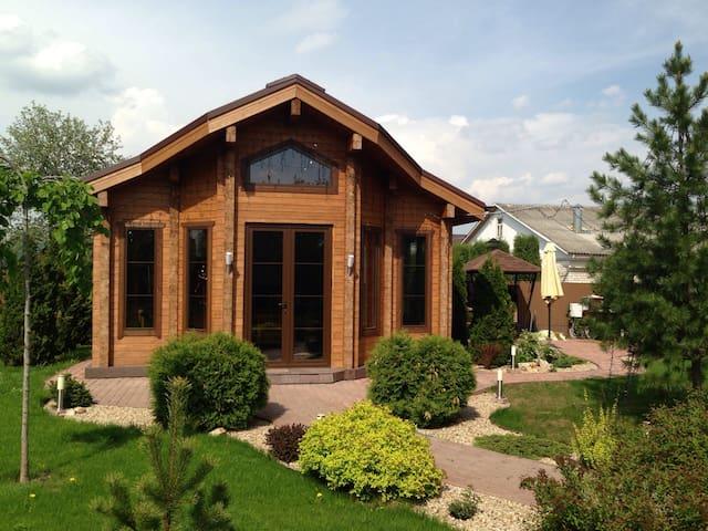 House near Zvenigorod for rest. - Skorotovo