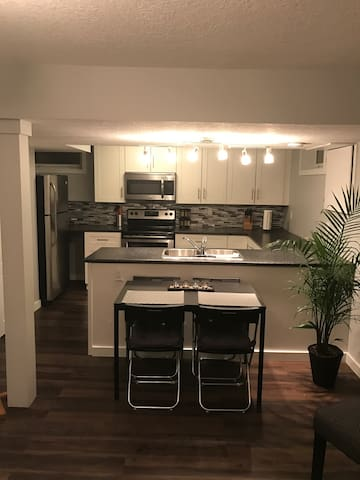 Beautiful 2 bdrm lower suite steps from the LRT - Edmonton - Daire