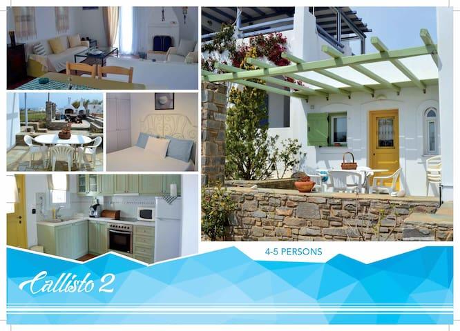 """""""Callisto 2"""" House in Paros island. - Marpissa - Hus"""