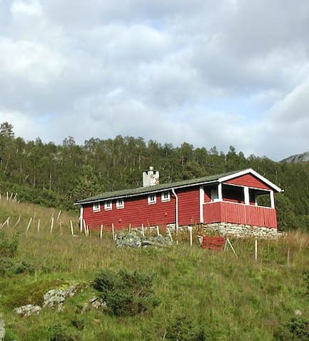 Old-fashioned norwegian cabin - Voss - Kulübe