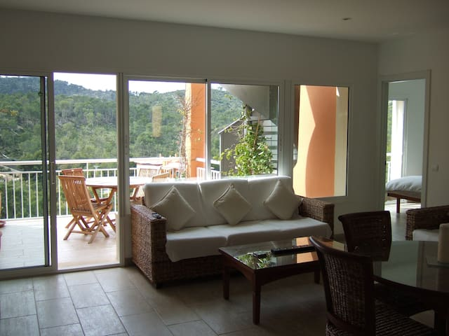 Stunning penthouse with private rooftop and views - Cala Fornells - Appartement