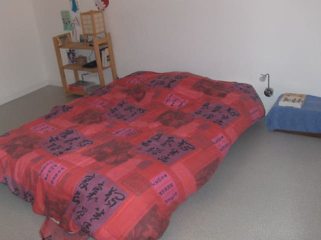 chambre dans appartement de100m² - Coarraze - Daire
