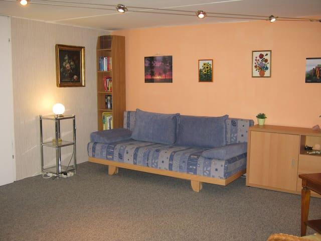 Guestroom in basement - Ottobrunn - Talo
