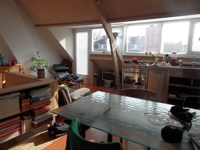 Zolder  appartement Nijmegen-Oost - Nijmegen - Loft
