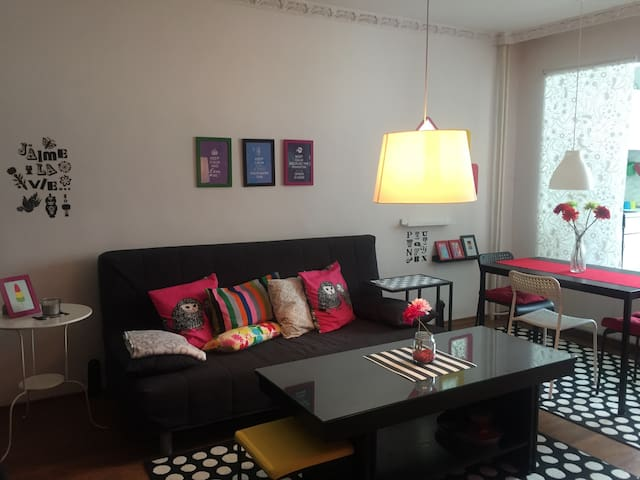 Cosy Apartment, close to the City Center - Sofya - Daire