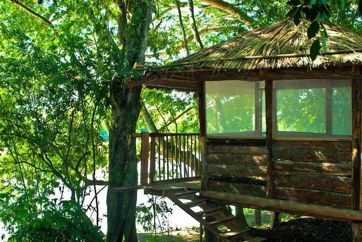Private cabin viewing the Cauca River - Ecovillage - Cartago - Cabaña