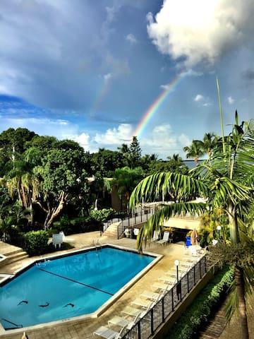 Beautiful two bedroom Moon Bay condo with a view - Key Largo - Apartamento