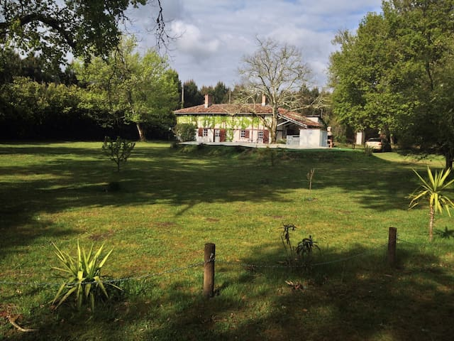Holiday cottage :Gite Airial Landes - Lue - Villa