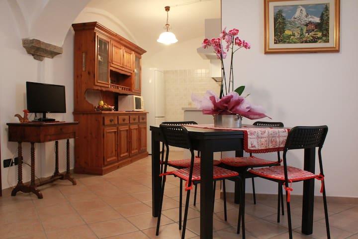 Cosy apt in Saint-Vincent - Saint-Vincent - Apartamento