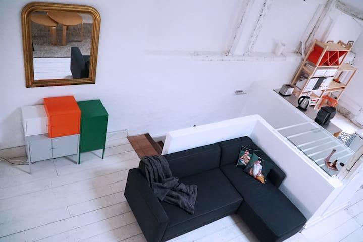 Beau Loft au cœur de Marmande/centre historique - Marmande - Çatı Katı