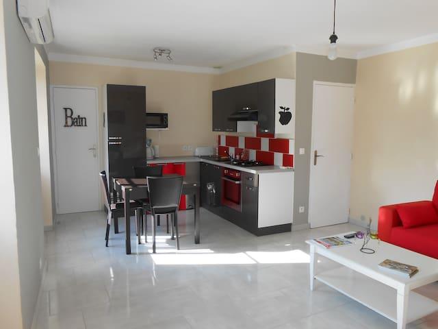 Appartement T2 - Ucel - Apartamento