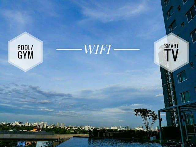 High rise-nice view/ near Donmuang Airport - Nonthaburi - Kondominium