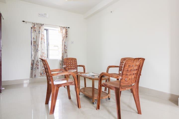 Penthouse with Kolkata view.Separate 1BHKflat. - 콜카타
