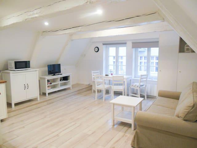Przytulne studio z antresola - Stare Miasto - Toruń - Lägenhet