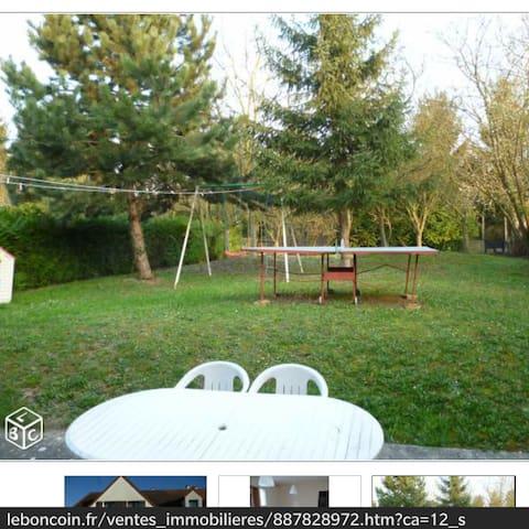 Agréable T4 groundfloor calm jardin - Brétigny-sur-Orge