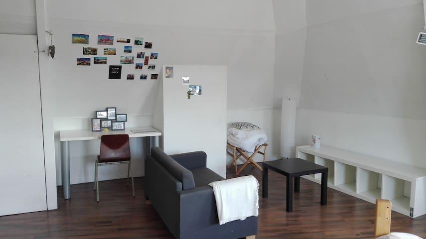 Huge cozy double room - Rotterdam - Casa