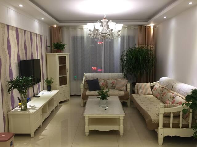 FM公寓-二七万达商业广场韩式田园三居室 - Zhengzhou - Daire