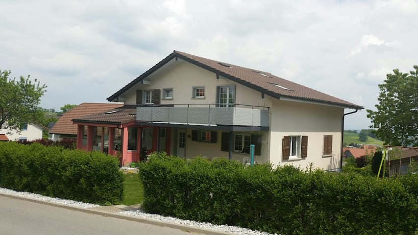 Grande Chambre indépendante 1-2p - Vuisternens-en-Ogoz