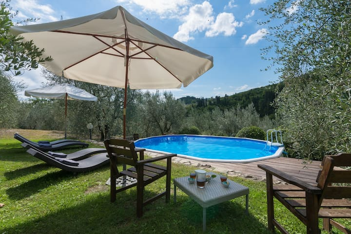 Carmignano*L'Olivo +swimming Pool - Carmignano (PO) - Appartement