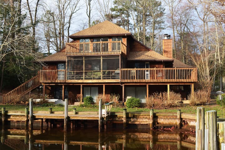 Stunning Private Suite in Quiet Waterfront Home - Ocean Pines - Maison