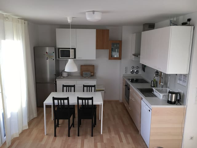 Sunlit Cozy Loft Apartment 57qm in Innercity - Regensburg - Lägenhet